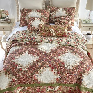 Link to Donna Sharp Watercolor Irish Chain Quilt Set Similar Items in Quilts & Coverlets