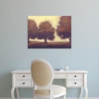 Easy Art Prints Norman Wyatt's 'Calm Meadow II' Premium Canvas Art