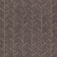 Brewster HZN43066 Foothills Purple Herringbone Texture Wallpaper - purple herringbone