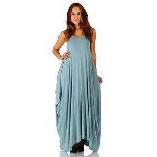 Simply Ravishing Women's Maxi Boho Harem Spaghetti Strap Dress (Size: Small  ...