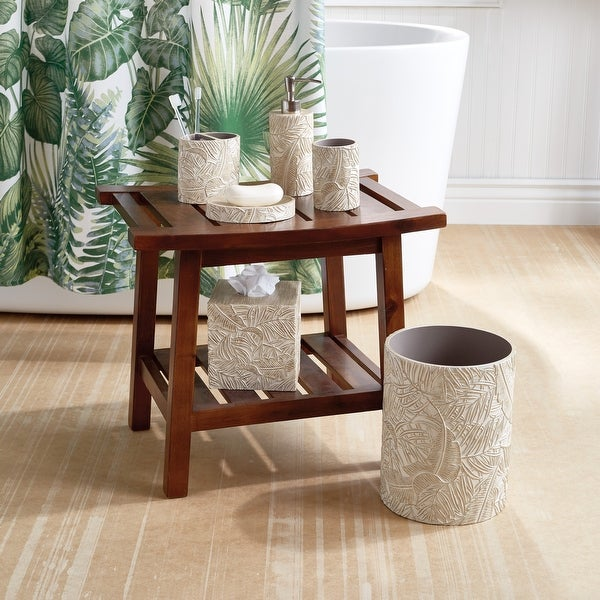 Destinations Palm Wood Bath Accessories. Opens flyout.