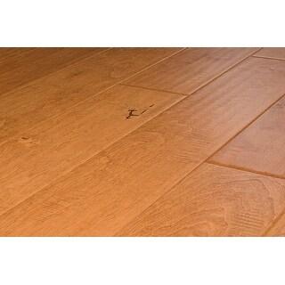 "Kanstar Engineered Hardwood - 17.5 sq. ft. Handscraped Maple Old West Collection Maple - Durham / 5"" / 1/2"" / Random Lengths"