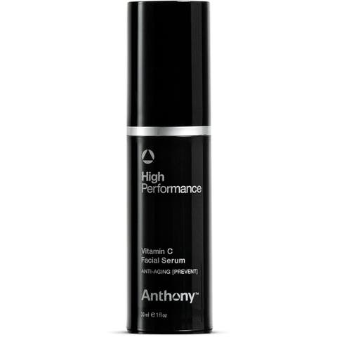 Anthony High Performance Vitamin C Serum, 1 Fl Oz, Polypeptides, Salicylic Acid, Licorice Root Extract, Anti-Aging, Retexturizes