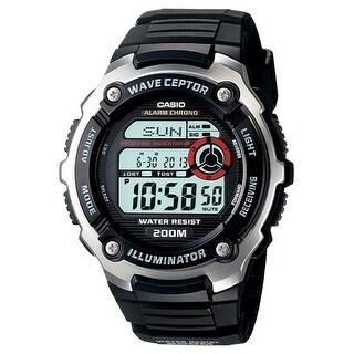 Casio WV200A-1AV Casio wave ceptor WV200A-1AV Wrist Watch - Men - Sports Chronograph - Digital - Quartz - Atomic