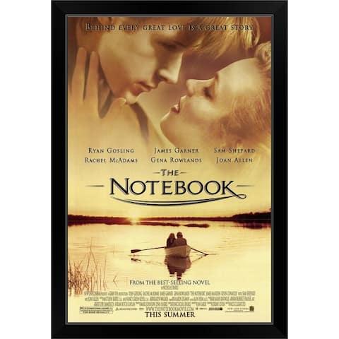 """The Notebook (2004)"" Black Framed Print"