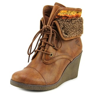 Rock & Candy Sabra   Round Toe Leather  Ankle Boot