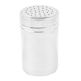 Unique Bargains Stainless Steel Multi Holes Outlet Sugar Cruet Salt Pepper Shaker 4.6""