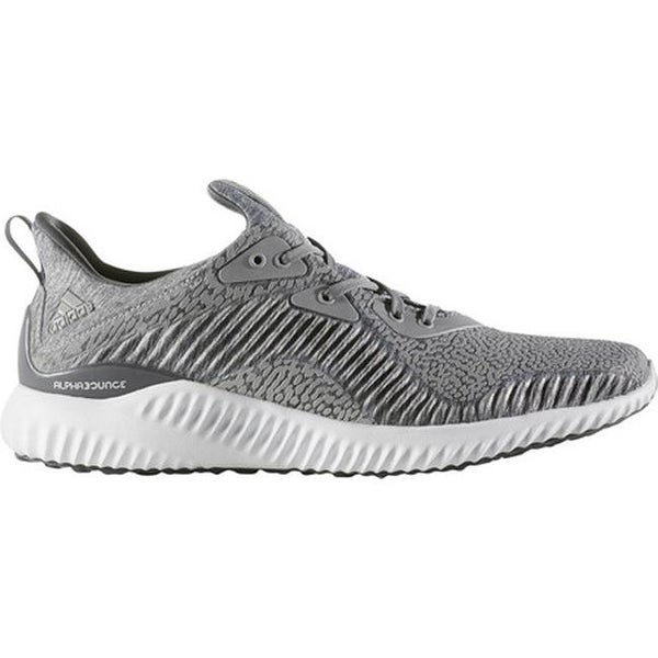 5ffe6fa3c55f9 adidas Men  x27 s AlphaBOUNCE HPC AMS 3.0 Running Shoe Medium Grey Heather