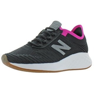 Link to New Balance Womens Fresh Foam Roav Running Shoes Cushioned Fitness - Black/Steel Textile Similar Items in Women's Shoes