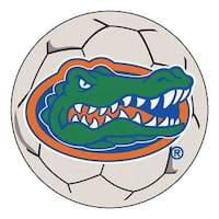 University of Florida Gators Soccer Ball Rug