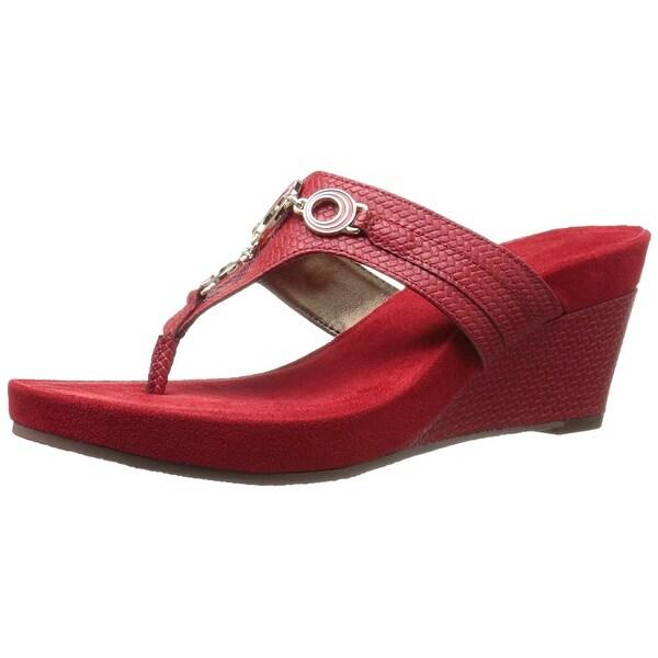 Aerosoles Womens Flashlight Open Toe Casual Slide Sandals