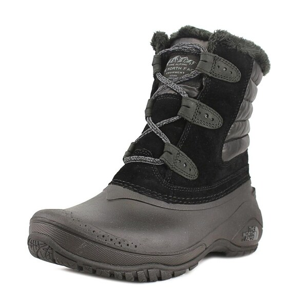 The North Face Shellista II Shorty Women Round Toe Synthetic Black Snow Boot