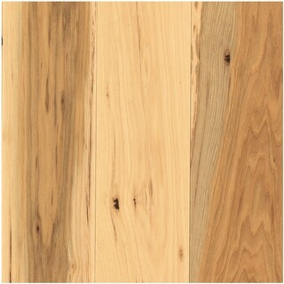 """Mohawk Industries BCS99-HIC  5"""" Wide Solid Hardwood Flooring - Textured Hickory Appearance- Sold by Carton (19 SF/Carton)"""