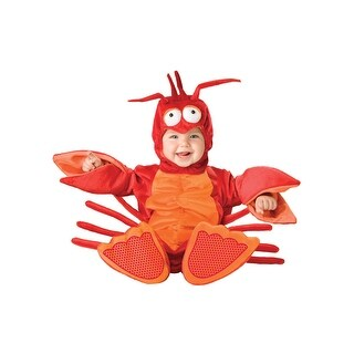 InCharacter Lil' Lobster Infant/Toddler Costume - Red