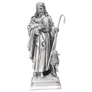 Design Toscano Jesus, The Good Shepherd Garden Statue: Large