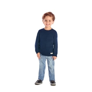 Toddler Boy Long Sleeve T-Shirt Little Boys Classic Tee Pulla Bulla 1-3 Years