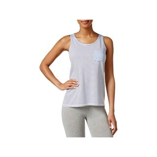 Nautica Womens Sail Away Sleep Tank Striped Scoop Neck