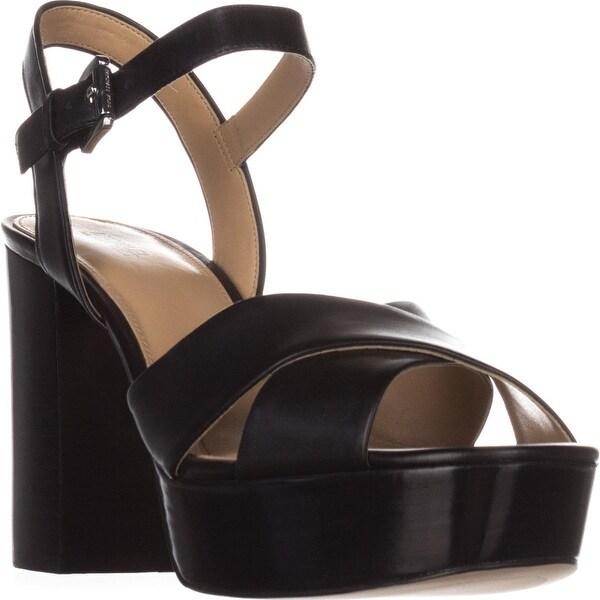 MICHAEL Michael Kors Divia Platform Sandals, Black
