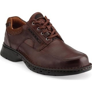 Clarks Men's Un.Bend Brown Leather