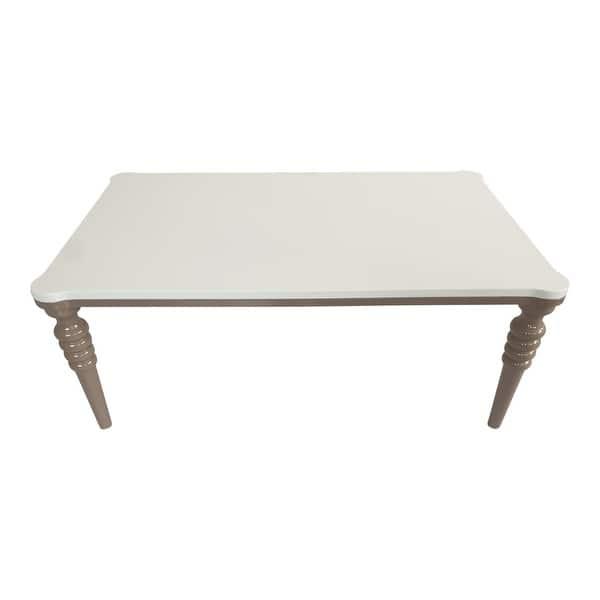 Shop Savahome Modern Coffee Table Cappucino Cream On Sale Overstock 31267978