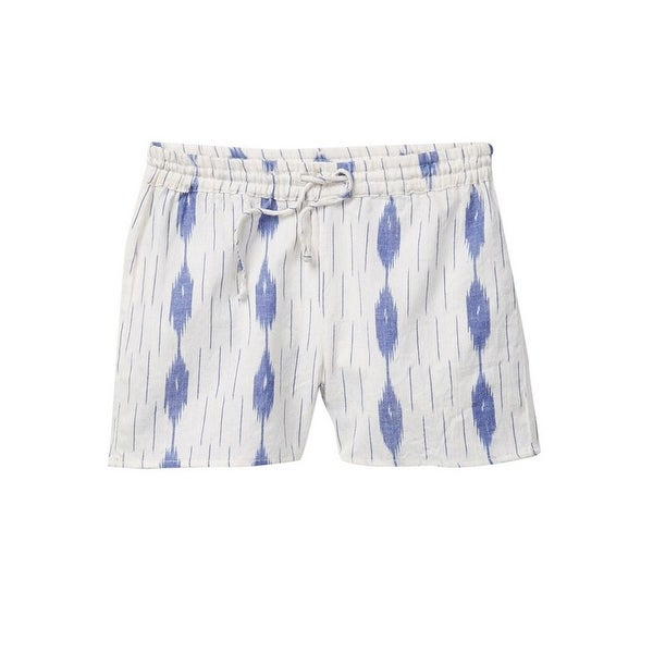 f3c9b06075 Shop Azul Little Girls Blue White IKAT Elastic Band Drawstring ...