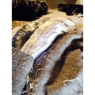 Safavieh Handmade Silken Glam Paris Shag Ivory Accent Rug - 2' X 3'