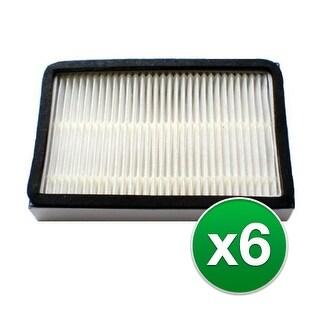 Replacement Vacuum Filter for Kenmore 116.25512 Vacuum Model - 6 Pack