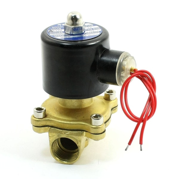 15mm Orifice AC 24V 2 Way 2 Position 1/2 Water Gas Electric Solenoid Valve