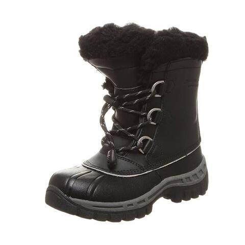 Bearpaw Outdoor Boots Girls Kelly Waterproof Leather Upper