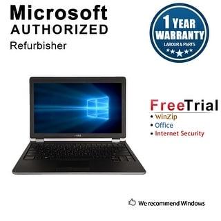 "Refurbished Dell Latitude E6220 12.5"" Laptop Intel Core i5 2520M 2.5G 4G DDR3 320G Win 10 Pro 1 Year Warranty - Black"