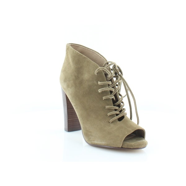 Splendid Janessa Women's Heels Dk OLIV-KS - 10