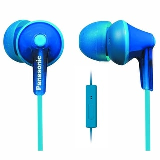 Panasonic Consumer - Rp-Tcm125-A - Earbuds Remote Mic Blue