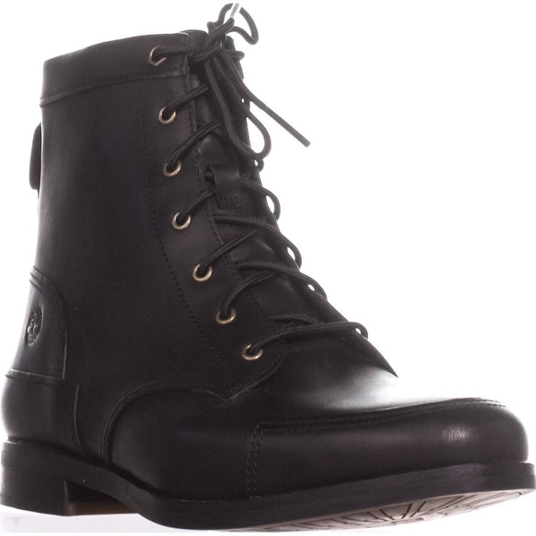 Timberland Somers Falls Mid Lace Boots, Black