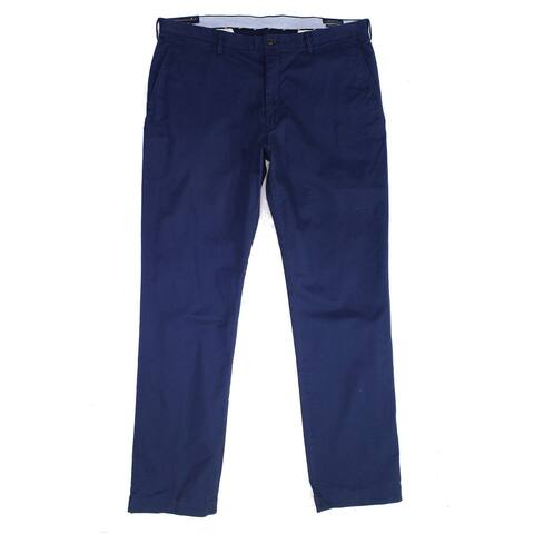 Polo Ralph Lauren Mens Pants Blue Size 38x36 Big & Tall Chino Stretch