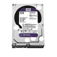 Western Digital Wd20purz 2Tb Surveillance Hard Drive, 5400Rpm, 64Mb Buffer, Purple