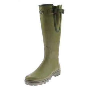 Le Chameau Womens Vierzon Rubber Knee-High Wellington Boots - 5.5