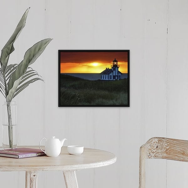 Shop Sunset Point Cabrillo Lighthouse California Usa Black Float Frame Canvas Art Overstock 25522786 The format for each line is <tag>: overstock com