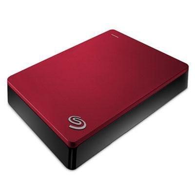 Seagate Backup Plus 5Tb Portable External Hard Drive Usb 3.0, Red (Stdr5000103)