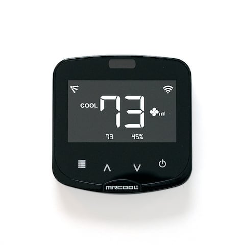 The MRCOOL Smart HVAC Ductless Mini-Stat Thermostat