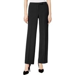 Kasper Womens Petites Dress Pants Straight Leg Professional