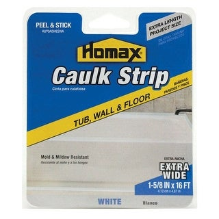 "Homax 3071 Caulk Strips, 1-5/8"" X 16' White"