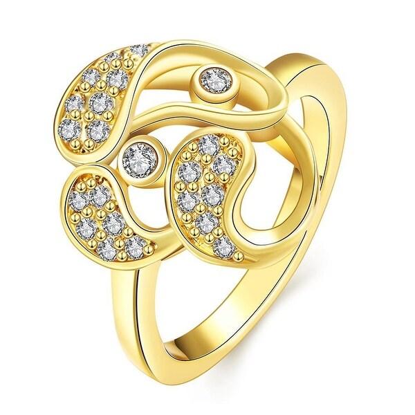 Gold Trio-Matrix Ring