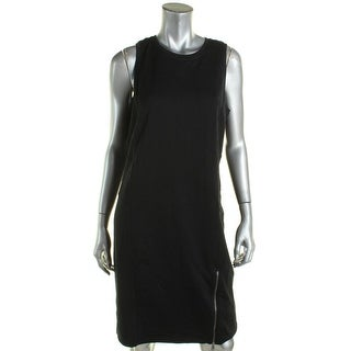 Ralph Lauren Womens Cocktail Dress Paneled French Terry - M