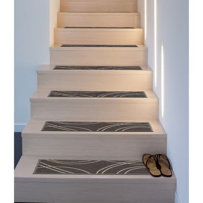 Modern Stripes Non-Slip Stair Treads