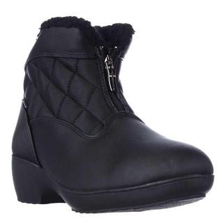 Weatherproof Lori Waterproof Short Winter Boots - Black