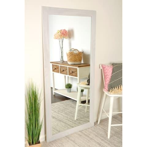 Texture Framed Wall Mirror