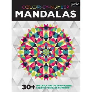Walter Foster Creative Books-Color By Number - Mandalas