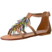 Steve Madden Women's Beadiee Flat Sandal - 9