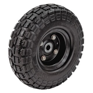 Farm & Ranch FR1030 No-Flat Replacement Tire For Yard Carts, 10""