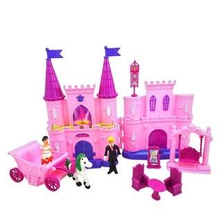 Envo Toys Princess Castle For Kids Includes Prince And Princess